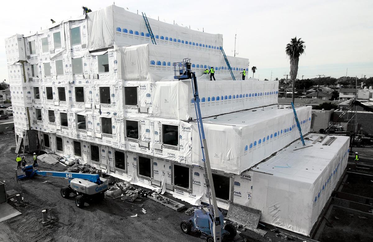 Modular- Townplace Suites & Springhill Suites, Hawthorne Los Angeles